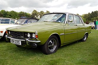 Executive car - 1977 Rover 3500