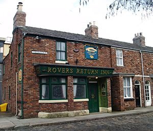 Rovers Return Inn - Rovers Return Inn exterior, as it appeared onscreen, from May 2013 to January 2014.