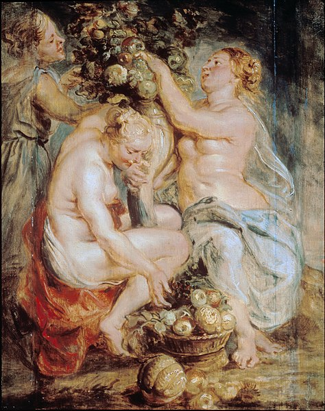 File:Rubens, Sir Peter Paul - Ceres and Two Nymphs with a Cornucopia - Google Art Project.jpg