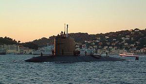 Rubis-class submarine - Image: Rubis 02