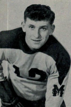 Rudy Migay - Migay at St. Michael's College, c. 1947