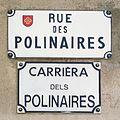 Rue des Polinaires (Toulouse) - Plaques.jpg