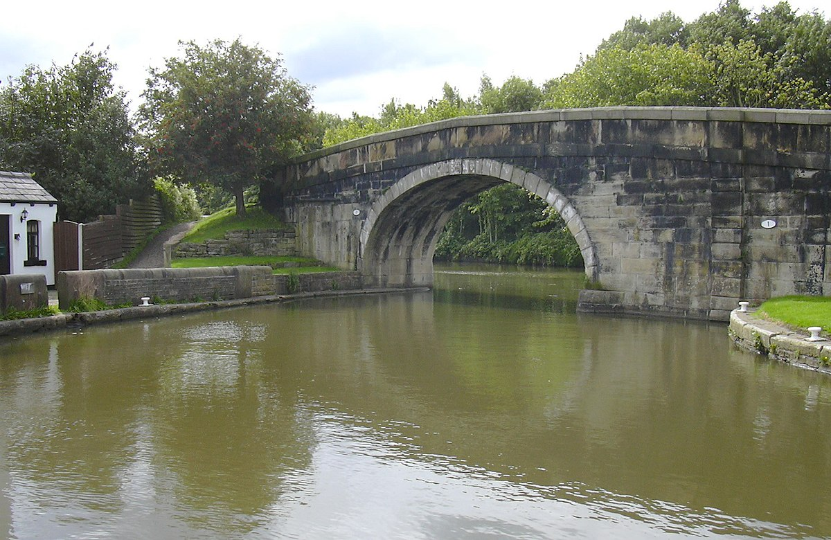 Rufford Branch of the Leeds-Liverpool Canal, Lancashire - Geograph 2034608.jpg