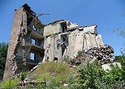 Ruin of Building Destroyed in 1988 Spitak Earthquake - Gyumri - Armenia - 02 (19112633668) (2).jpg