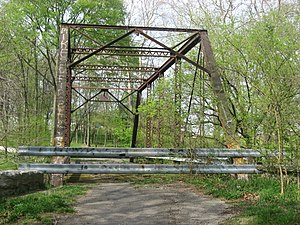 Anderson Township, Rush County, Indiana - Bridge No. 188, a historic site in the township