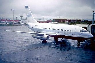 SARO (airline) - A Servicios Aéreos Rutas de Oriente Boeing 737-130 (XA-RSW)