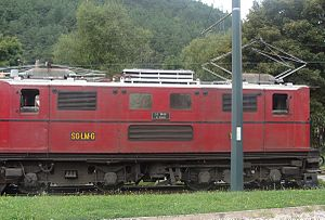 Chemin de Fer de La Mure - Locomotive T7 in La Mure
