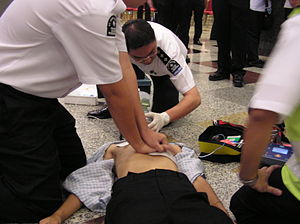 St. John Ambulance of Malaysia - CPR and the use of AED