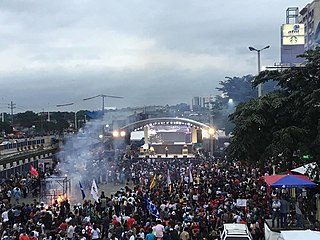 Protests during the State of the Nation Addresses of Rodrigo Duterte