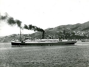 RMS Fort Victoria - Image: SS Willochra