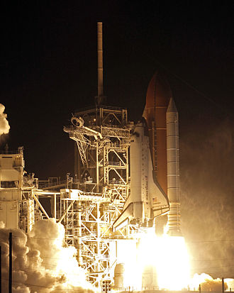 STS-126 - Space Shuttle ''Endeavour'' as it lifted off to begin the STS-126 mission to the International Space Station.