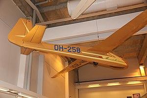 SZD-22 Mucha Standard - SZD-22 Mucha Standard in the Aviation Museum of Central Finland