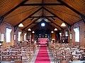 S Mary, Burgh Parva, Norfolk (Tin Tabernacle) - East end - geograph.org.uk - 319709.jpg