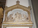 Sacred Heart Church. Station 9. Jesus falls the third time. - Budapest District VIII.JPG