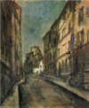 SaekiYūzō-1927-A Sloping Road in Paris.png