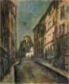 SaekiYūzō-1927-A Sloping Road in Paris.png