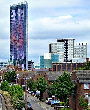 Croydon Vision 2020 - Image: Saffron Square Tower, Croydon, London