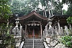 Saguriten-Shrine in Iwayama, Ujitawara, Kyoto July 6, 2018 12.jpg