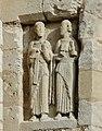 Saint-Astier (Dordogne) église statuettes.JPG