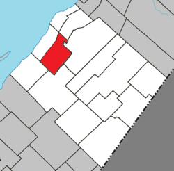Locație în cadrul L'Islet RCM.