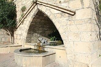 Saint-Geniès-de-Fontedit - Image: Saint Geniès de Fontedit fontaine 2