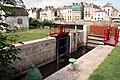 Saint-Nicolas-de-Redon - Écluse entre le canal de Nantes à Brest et la Vilaine - 20090704.jpg