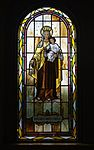 Saint Paul Catholic Church (Westerville, Ohio) - stained glass, arcade, Our Lady of Mount Carmel.jpg