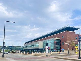 RiverCentre Convention center located in Saint Paul, Minnesota, USA