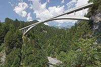 Salginatobel Bridge by Robert Maillart.