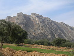 Salt Range in Mianwali