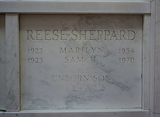 Knollwood Cemetery - Sam and Marilyn Sheppard crypt.