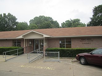Panola County, Texas - The Sammy Brown Library in Carthage serves patrons throughout Panola County.