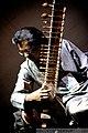 Samuel J. Dass plays sitar Festival Muzik KL Kuala Lumpur MALAYASIA July 2009.jpg