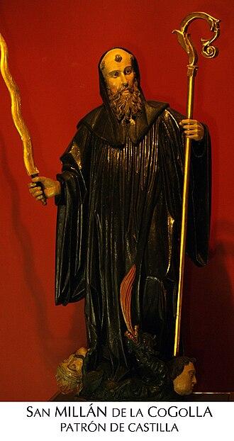 Emilian of Cogolla - Image: San Millan patron de castil