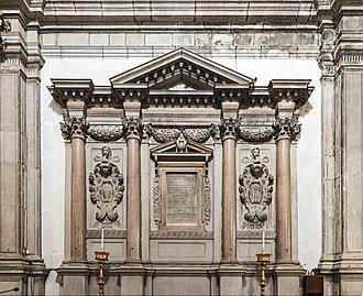 Andrea Gritti - His tomb in Venice.