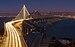 San Francisco–Oakland Bay Bridge- New and Old bridges.jpg