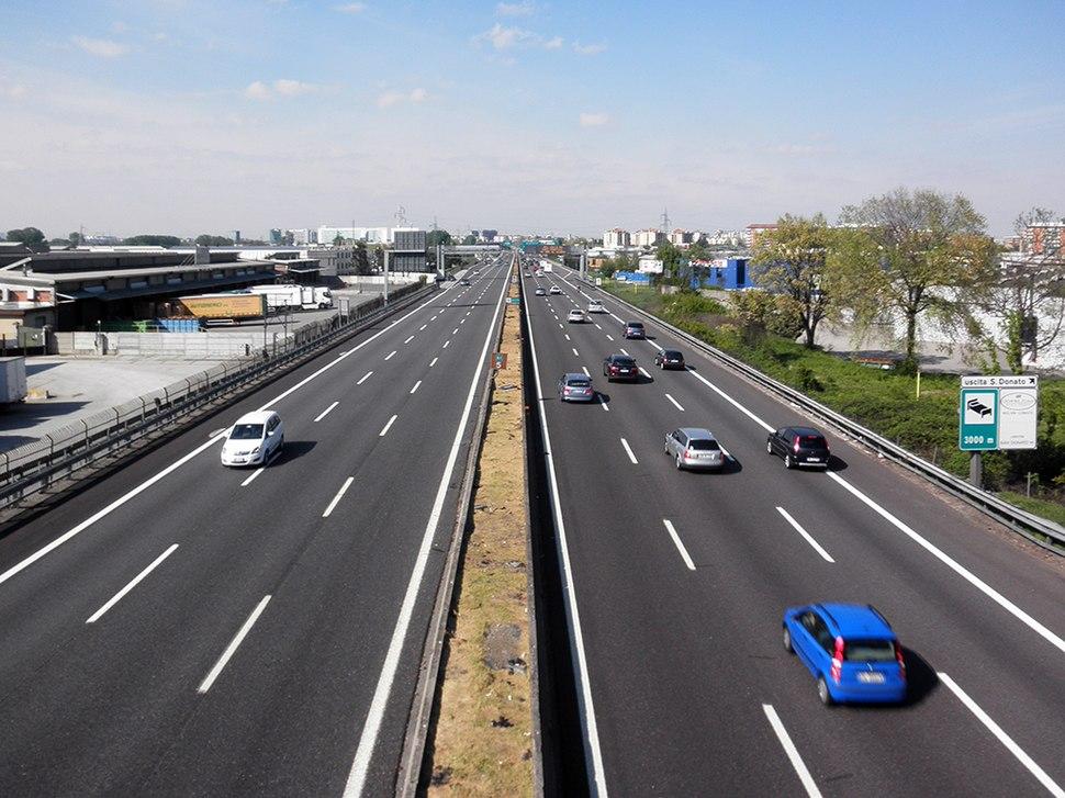 San Giuliano Milanese - autostrada A1