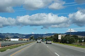 San Luis Obispo, California - U.S. Route 101 in San Luis Obispo