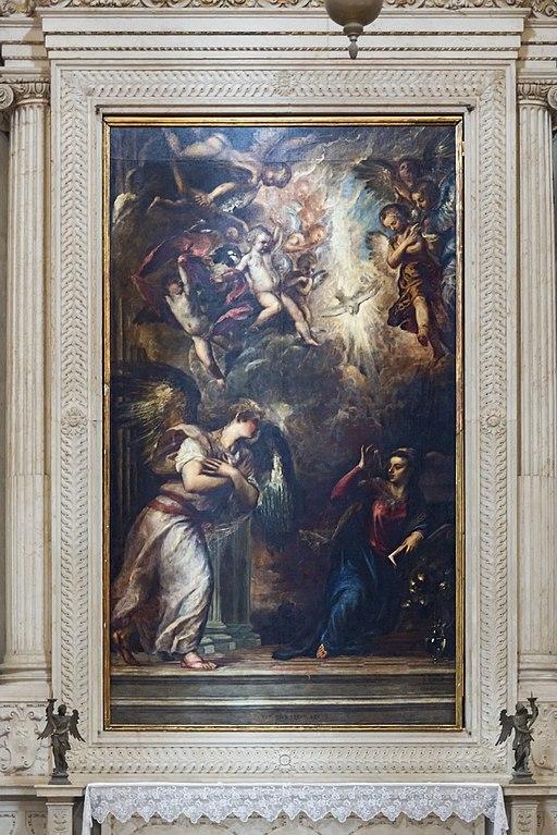 San Salvador Interno - Annunciazione del Signore Tiziano