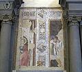 San marco, fi, affreschi lungo la navata, antonio veneziano e santo di bicci di lorenzo, 1380-1420 ca. 02.JPG