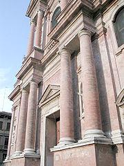 San prospero colonne reggio emilia