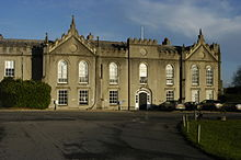 Sandleford Priory (west front), Sandleford, Greenham, Newbury, Berkshire, England.jpg