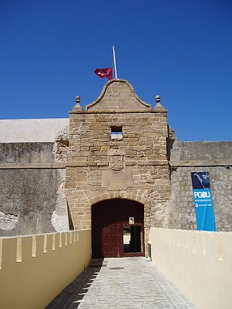 Cristóbal de Rojas - Castillo de Santa Catalina in Cádiz