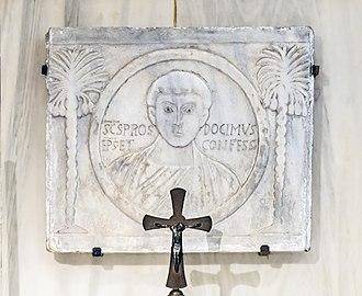 Santa Giustina (Padua) - The Shrine of Saint Prosdocimus - Saint Prosdocimus