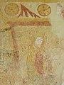 Sargé-sur-Braye (41) Église Saint-Martin Fresques Mur oriental 10.JPG