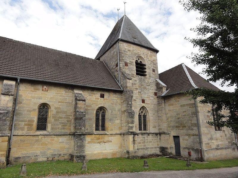 Saudrupt (Meuse) église