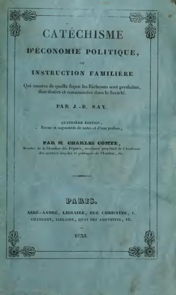 File:Say - Catéchisme d'économie politique - 4e edition - 1834.djvu