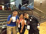 Say hello to Wikimedian from Taiwan and Mexico.jpg
