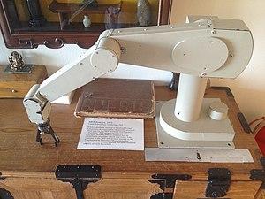Victor Scheinman - Scheinman's MIT Arm, built for MIT's Artificial Intelligence Lab ca. 1972, forerunner of the PUMA