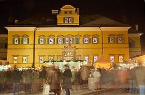 Advent calendar - Image: Schloss Hellbrunn zur Adventszeit